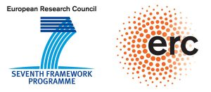 European Research Council & Seventh Framework Programme Logos